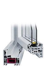 Profil Kunststofffenster NovoStyle 5-Kammern