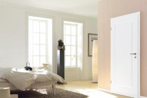 Weisse Zimmertüren